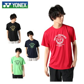 ヨネックス バドミントンウェア Tシャツ 半袖 メンズ 2020全英選手権 限定ユニ YOB20001 YONEX