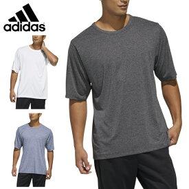 アディダス Tシャツ 半袖 メンズ MH HEATHER ヘザー機能Tシャツ GUN13 adidas
