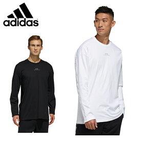アディダス Tシャツ 長袖 メンズ MH 3S 長袖Tee GUN36 adidas