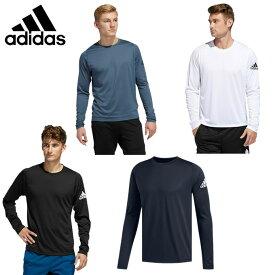 アディダス スポーツウェア 長袖 メンズ フリーリフト スポーツ ソリッド バッジ オブ スポーツ 長袖Tシャツ FSK53 adidas