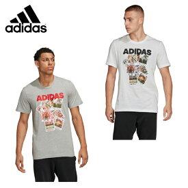 アディダス Tシャツ 半袖 メンズ ドゥードル フォトズ 半袖Tシャツ GLZ22 adidas