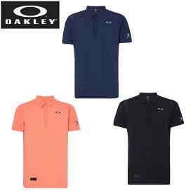 オークリー ゴルフウェア 半袖シャツ メンズ シンクロセーター半袖シャツ FOA400791 OAKLEY