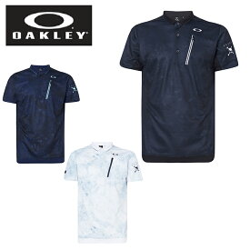 【エントリーで5倍 8/10〜8/11まで】 オークリー ゴルフウェア ポロシャツ 半袖 メンズ Skull Liquid Polo スカル ポロ FOA400794 OAKLEY