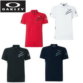 オークリー ゴルフウェア ポロシャツ 半袖 メンズ ダブルファスナーグラフィック半袖シャツ FOA400800 OAKLEY