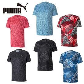 プーマ Tシャツ 半袖 メンズ トレーニング ブラスト AOP 519231 PUMA