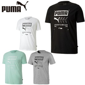 プーマ Tシャツ 半袖 メンズ ボックスPUMA Tシャツ 581908 PUMA
