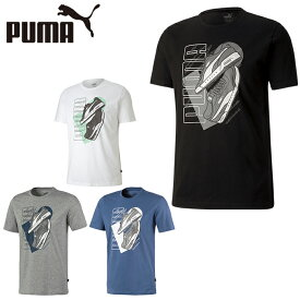 プーマ Tシャツ 半袖 メンズ スニーカー グラフィックTシャツ 581911 PUMA