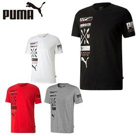 プーマ Tシャツ 半袖 メンズ アドバンスド グラフィックTシャツ 581914 PUMA