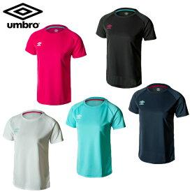 アンブロ Tシャツ 半袖 レディース ワンポイント半袖シャツ UMWPJA59 UMBRO