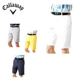 キャロウェイ ゴルフウェア ショートパンツ メンズ ストレッチダイヤドビーショートパンツ 241-0127500 Callaway