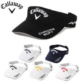 キャロウェイ ゴルフ サンバイザー メンズ ツアーバイザー 241-0991507 Callaway
