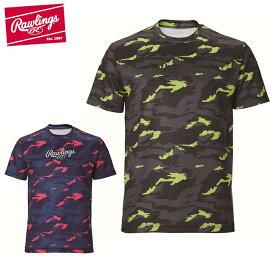 ローリングス 野球ウェア 半袖Tシャツ メンズ レディース コンバット01 Tシャツ AST10S12 Rawlings