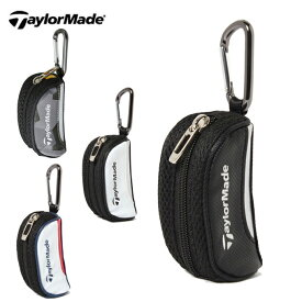 テーラーメイド TaylorMade ゴルフ ボールポーチ メンズ レディース トゥルーライトボールケース AWU97