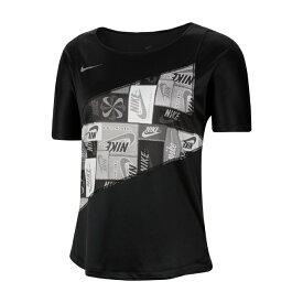 ナイキ スポーツウェア 半袖Tシャツ レディース ウィメンズ ICNCLSH プリンテッド S/S トップ CJ1938-010 NIKE