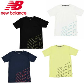 ニューバランス Tシャツ 半袖 ジュニア プリント ショートスリーブ Tシャツ JJTP0315 new balance