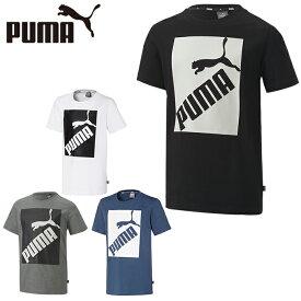 【楽天スーパーセール期間限定 ポイント20倍】プーマ Tシャツ 半袖 ジュニア ビッグロゴTシャツ 582891 PUMA