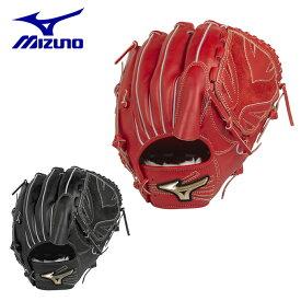 ミズノ 野球 一般軟式グラブ 投手用 メンズ 軟式用 グローバルエリート HSelection02+ プラス 投手用 サイズ11 1AJGR22401 MIZUNO