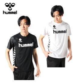 ヒュンメル ハンドボールウェア 半袖シャツ メンズ ドライTシャツ HAY2096 hummel