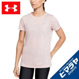 アンダーアーマー Tシャツ 半袖 レディース UAテック ツイスト 1277206-080 UNDER ARMOUR