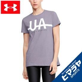 【基本送料無料 4/16まで】 アンダーアーマー Tシャツ 半袖 レディース UAグラフィック ショートスリーブ 1352066-554 UNDER ARMOUR