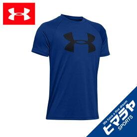 アンダーアーマー Tシャツ 半袖 ジュニア UAテック ビッグロゴ ショートスリーブ トレーニング BOYS 1351850-400 UNDER ARMOUR