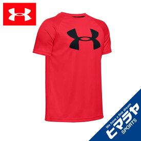 アンダーアーマー Tシャツ 半袖 ジュニア UAテック ビッグロゴ ショートスリーブ トレーニング BOYS 1351850-600 UNDER ARMOUR