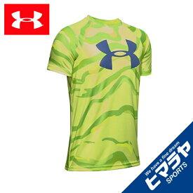 アンダーアーマー Tシャツ 半袖 ジュニア UAテック ビッグロゴ プリント ショートスリーブ トレーニング BOYS 1351851-786 UNDER ARMOUR