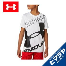 アンダーアーマー Tシャツ 半袖 ジュニア UAテック ブランド ロゴ ショートスリーブ 1353546-100 UNDER ARMOUR
