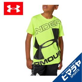アンダーアーマー Tシャツ 半袖 ジュニア UAテック ブランド ロゴ ショートスリーブ 1353546-786 UNDER ARMOUR