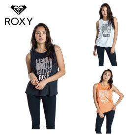 【エントリーで5倍 8/10〜8/11まで】 ロキシー ノースリーブシャツ レディース 水陸両用 速乾 UVカットタンクトップ GET IN SHAPE ROXY RSL201523 ROXY