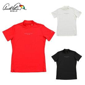 アーノルドパーマー arnold palmer ゴルフウェア 半袖シャツ レディース モックネック半袖シャツ AP220301J07