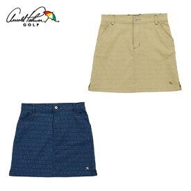 アーノルドパーマー arnold palmer ゴルフウェア スカート レディース エンボス総柄スカート AP220308J01