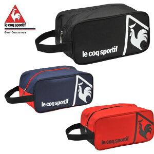 ルコック le coq sportif シューズケース メンズ シンプルデザインシューズケース QQBLJA21