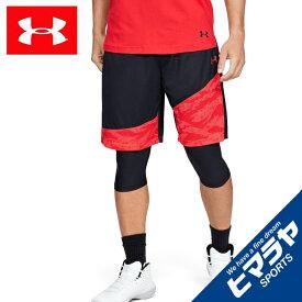 アンダーアーマー バスケットボール ハーフパンツ メンズ UAベースライン 25cm ショーツ 10インチ MEN 1343004 006 UNDER ARMOUR