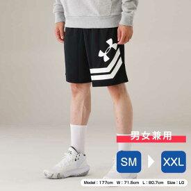 アンダーアーマー バスケットボール ハーフパンツ メンズ UAベースライン 10インチ コート ショーツ MEN 1351285 001 UNDER ARMOUR