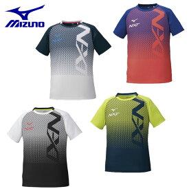 ミズノ Tシャツ 半袖 メンズ N-XT ビッグロゴ機能Tシャツ 32JA0210 MIZUNO