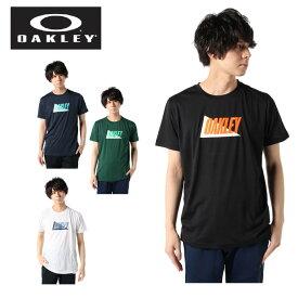 オークリー Tシャツ 半袖 メンズ Enhance QD SS Tee Mix 10.0 EN QDミックス機能Tシャツ FOA400159 OAKLEY