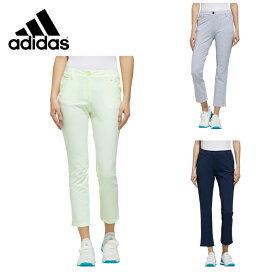 アディダス ゴルフウェア アンクルパンツ レディース ストレッチサッカークロップドパンツ GLD43 adidas