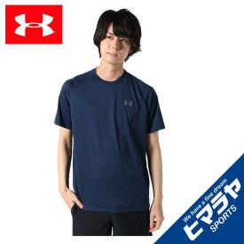 アンダーアーマー Tシャツ 半袖 メンズ UAテック ショートスリーブ Tシャツ 1358553-408 UNDER ARMOUR