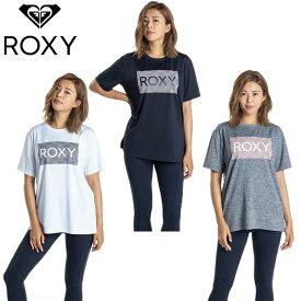 ロキシー Tシャツ 半袖 レディース 水陸両用 速乾 UVカットTシャツ MESH LOGO RST201533 ROXY