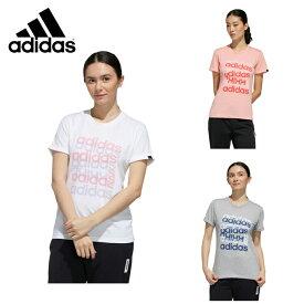アディダス Tシャツ 半袖 レディース ビッググラフィック 半袖Tシャツ GVC53 adidas