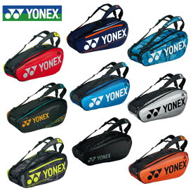 ヨネックス テニス バドミントン ラケットバッグ 6本用 メンズ レディース BAG2002R YONEX