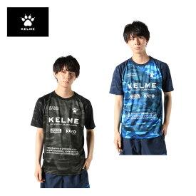 ケルメ サッカーウェア プラクティスシャツ 半袖 メンズ カモPT半袖プラシャツ KH20S707 KELME