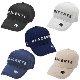 デサントゴルフ DESCENTE GOLF ゴルフ キャップ メンズ ツイルキャップ DGBPJC00