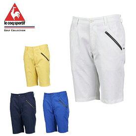 ルコック le coq sportif ゴルフウェア ショートパンツ メンズ MSYツイルストレッチSパンツ QGMPJD50