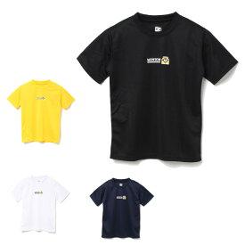 ミニオンズ minions バドミントンウェア Tシャツ 半袖 ジュニア バドT 22843070