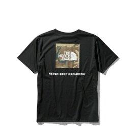 ノースフェイス Tシャツ 半袖 メンズ S/S Logo Camo tee ショートスリーブロゴカモティー NT32035 K THE NORTH FACE