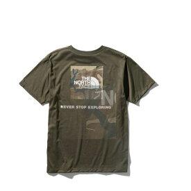 ノースフェイス Tシャツ 半袖 メンズ S/S Logo Camo tee ショートスリーブロゴカモティー NT32035 NT THE NORTH FACE