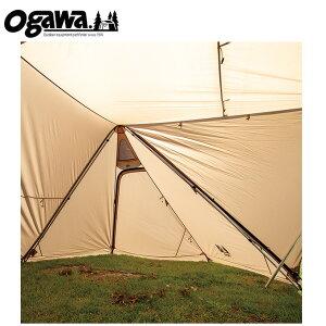 オガワテント テントポール ツインピルツフォークL用二又フレーム 3047 OGAWA