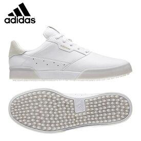 アディダス ゴルフシューズ スパイクレス メンズ アディクロス レトロ EE9162 EPC40 adidas